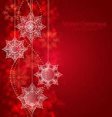 red snowflake background. Beautiful Snowflake Set Of Shiny Snowflakes Background Art Vector Inside Red Snowflake Background