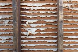 horse hair plaster walls in home