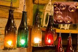tea light candle chandelier