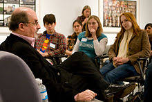 salman rushdie salman rushdie having a discussion emory university students
