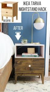 diy ikea tarva. Check Out What She Did To This IKEA TARVA Nightstand! Is Seriously So Cool, I Almost Didn\u0027t Recognize That It Was The TARVA. Diy Ikea Tarva N