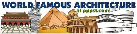 Famous architecture in the world Canvas Painting World Famous Architecture Illustration Architecture Free Powerpoint Presentations About World Famous Architecture For