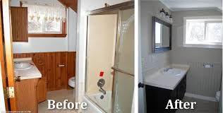 Sanford Maine Home Remodeling Bathroom Before After