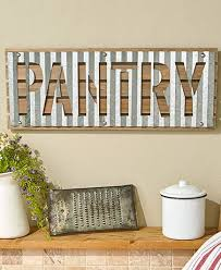 corrugated metal wall signs