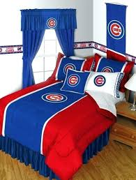 chicago bears bedding set sports coverage cubs sidelines comforter full king size 4 3 chicago bears bedding