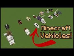 10 minecraft vehicle designs play