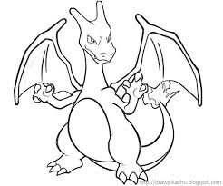 Small Picture Pokemon Coloring Pages Charizard Ziho Coloring