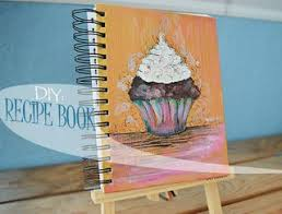 How To Make A Recipe Book How To Make A Hand Painted Recipe Book 8 Steps