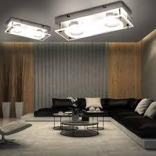 Schlafzimmer Leuchte Modern Wand Lampe 2er Set 6 Watt Led Leuchte