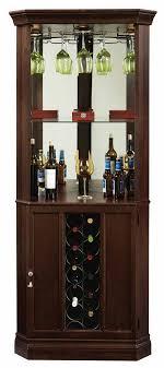 Howard Miller Piedmont III 690-007 Corner Wine Cabinet