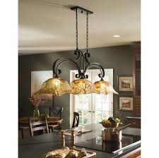 Island Lights For Kitchen Kitchen Perfect French Kitchen Island Lighting In Black Finish By
