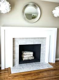 Decorative Tiles For Fireplace Grey Tile Fireplace Decorative Textured Fireplace Tile Gray Slate 64