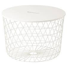 KVISTBRO <b>Storage table</b> - white - IKEA