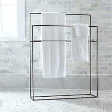 floor towel stand. Floor Towel Rack Standing Stand Modern Hooks Wall Mounted Gunmetal L