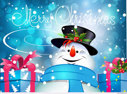 Merry Christmas And Happy New Year 2014 Vector Animation