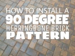How To Layout Herringbone Pattern Interesting Decorating