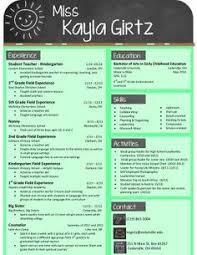Teacher Brochure Example My Design For An Elementary Teacher Resume Buy The Template For
