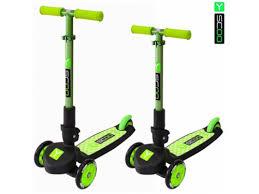 Купить трехколесный <b>самокат Y</b>-<b>Scoo Trio</b> Maxi 120, зеленый по ...