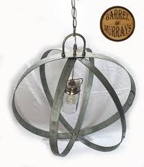 barrel band electric chandelier2 barrel band electric chandelier