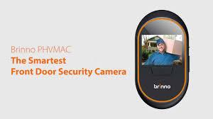front door camerasBrinno PHV MAC Hidden Front Door Security Camera  YouTube