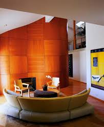 Orange And Brown Living Room 45 Contemporary Living Rooms With Sectional Sofas Pictures