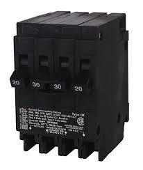 siemens q22030ct 30 amp double pole two 20 amp single pole circuit Tandem Wiring Diagram siemens q22030ct 30 amp double pole two 20 amp single pole circuit breaker amazon com tandem trailer wiring diagram