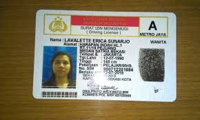 So-called Indonesia Driving License Making In – Of The Life