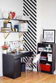 office diy projects. Give Your Home Office Shelving A Golden Upgrade. DIY Projects: Diy Projects