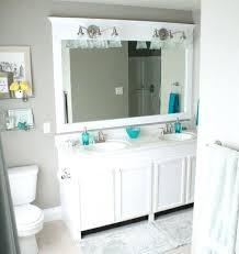 posh diy framed oval bathroom mirror bactrim bathroom decorating for gray framed bathroom mirror