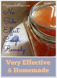 no side effect cough remedy very effective homemade a glass jar containing