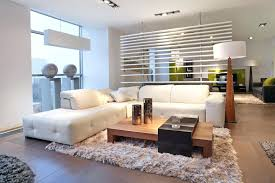 white sectional living room ideas warm modern living room with rug and white sectional sofa