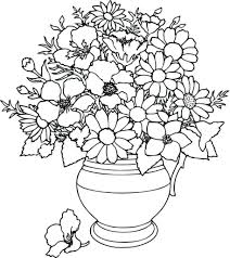 awesome coloring pages flower collection printable within flowers