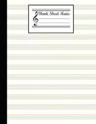 Musical Staff Pdf Stave Paper Blank Sheet Music Blank Staff Paper Stave Blank Sheet