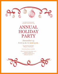 Free Holiday Party Templates 5 Free Holiday Party Invitation Templates Word 952 Limos