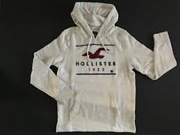 Hollister Size Chart Guys Details About Hollister By Abercrombie Mens Pullover Hoodie Sweatshirt M L New With Tags