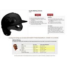 44 Right Easton Batting Helmets Size Chart