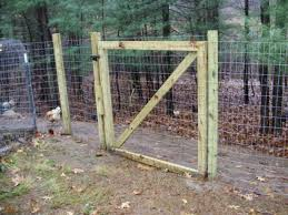 Welded wire fence gate Deer Fence Goatproof Fence Moneyrhythm Make Your Own Goatproof Fence