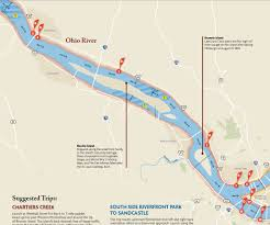 Monongahela River Depth Chart What Are The Navigation Considerations On The Ohio River