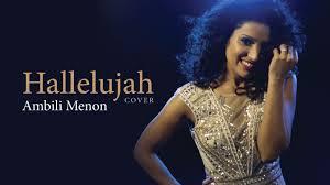 Hallelujah (Cover) - Ambili Menon - YouTube