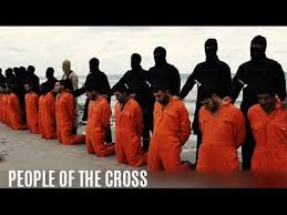 Image result for images of christians in orange jumpsuits