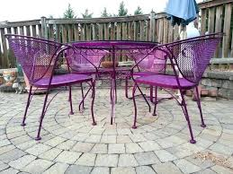 powder coated aluminum garden furniture decoration traditional patio of awesome for