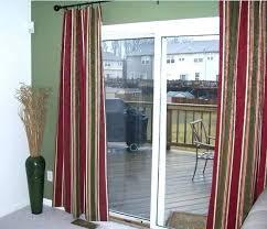 sliding glass door covering ideas stylish window treatment for doors valance cove