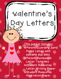Valentines Day Letter Template Valentines Day Letters By Mrs Aldridges Class Tpt