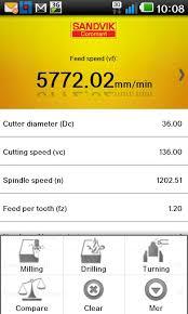 Sandvik Coromant Calculator 1 2 6 Apk Download Android