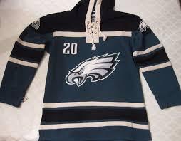 Xl Brian 1844237388 Eagles Jersey Dawkins 20 Green Hockey Hoodie Philadelphia
