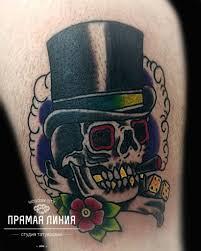 тату стиль олдскултрадиционная американская татуировка прямая линия