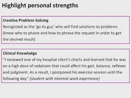 Strengths For A Resume