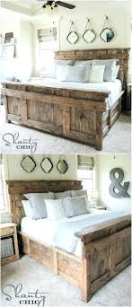 Rustic King Bed Custom Rustic King Size Bed Frame Rustic King Size ...