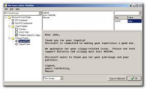 The Form Letter Machine Donationcoder Com