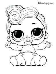Unicorn Coloring Pages Lol Doll Together With Dolls Free Printable